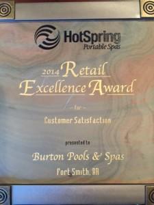 pool service award