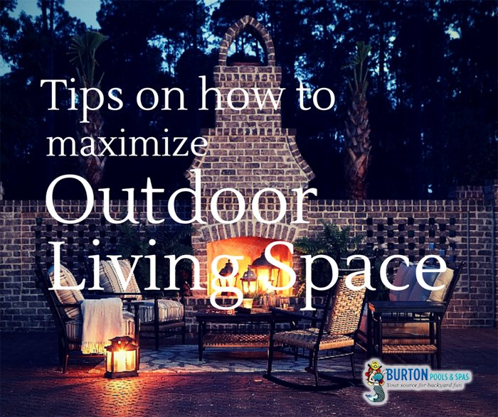 outdoor living space tips