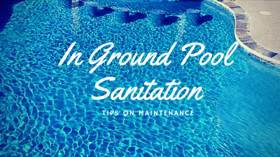 In Ground Pool Sanitation