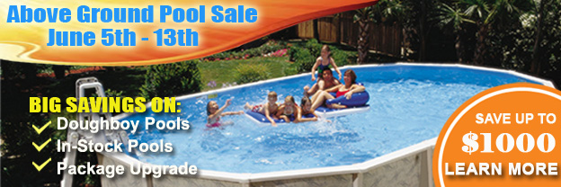 Above Ground Pool Sale Event