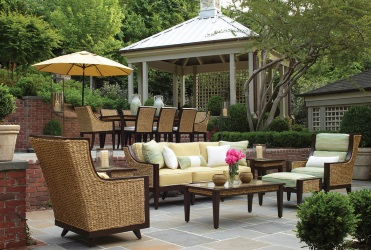 Attrayant ... Summer Classics Fine Outdoor Furniture Is Beautifully Accessorized With  Our Full Line Of Patio Umbrellas, And Many Options In Alternative Patio  Table ...
